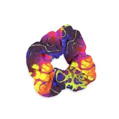 Awesome Fractal 35c Velvet Scrunchie