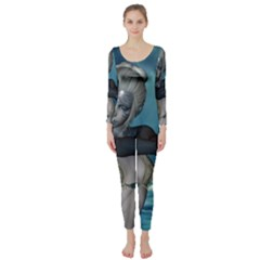The Wonderful Water Fairy With Water Wings Long Sleeve Catsuit