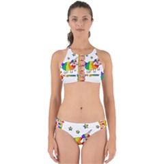 Unicorn Sheep Perfectly Cut Out Bikini Set