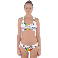 Unicorn Sheep Cross Back Hipster Bikini Set