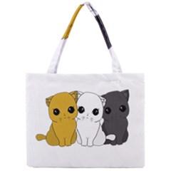 Cute Cats Mini Tote Bag