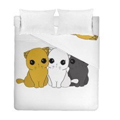 Cute Cats Duvet Cover Double Side (full/ Double Size)