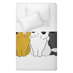Cute Cats Duvet Cover Double Side (single Size)