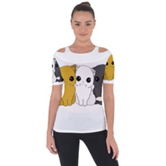 Cute Cats Short Sleeve Top