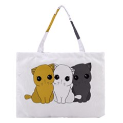 Cute Cats Medium Tote Bag