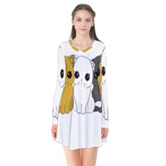 Cute Cats Flare Dress