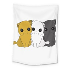 Cute Cats Medium Tapestry