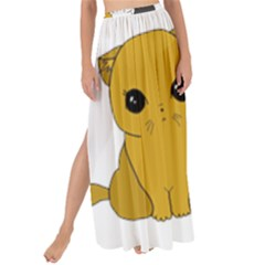 Cute Cats Maxi Chiffon Tie Up Sarong