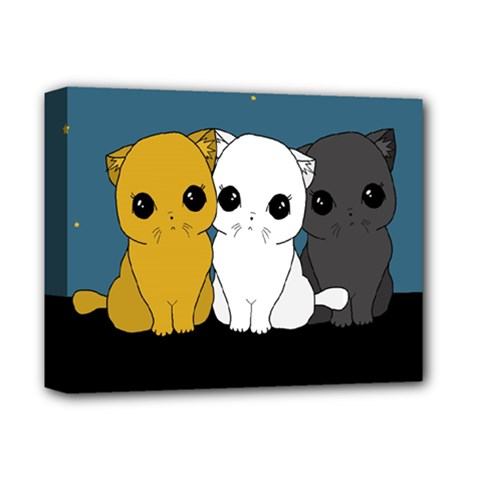 Cute Cats Deluxe Canvas 14  X 11