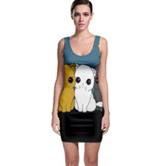 Cute Cats Bodycon Dress