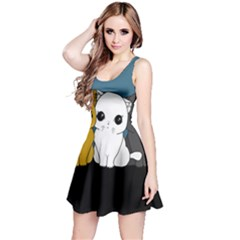 Cute Cats Reversible Sleeveless Dress