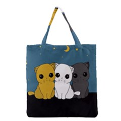 Cute Cats Grocery Tote Bag