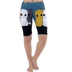 Cute Cats Cropped Leggings