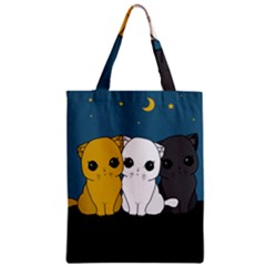 Cute Cats Zipper Classic Tote Bag