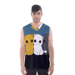 Cute Cats Men s Basketball Tank Top