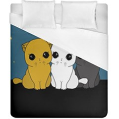Cute Cats Duvet Cover (california King Size)