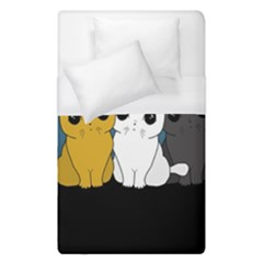 Cute Cats Duvet Cover (single Size)