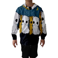 Cute Cats Hooded Wind Breaker (kids)