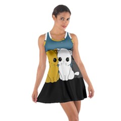 Cute Cats Cotton Racerback Dress