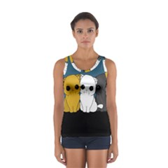 Cute Cats Sport Tank Top