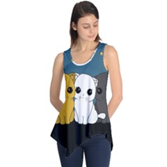 Cute Cats Sleeveless Tunic