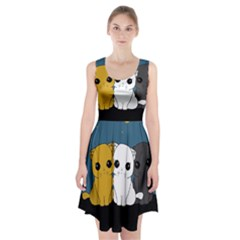 Cute Cats Racerback Midi Dress