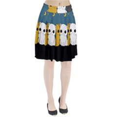 Cute Cats Pleated Skirt