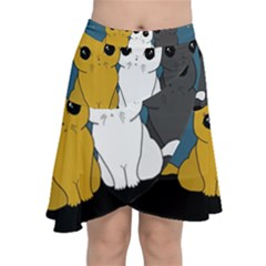 Cute Cats Chiffon Wrap