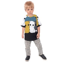 Cute Cats Kids Raglan Tee