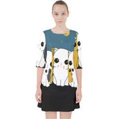 Cute Cats Pocket Dress