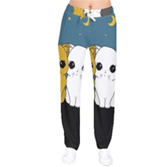 Cute Cats Drawstring Pants