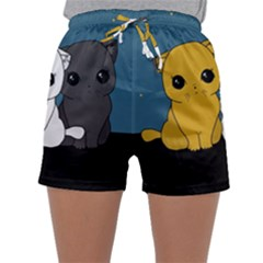 Cute Cats Sleepwear Shorts