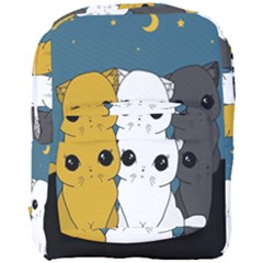 Cute Cats Full Print Backpack