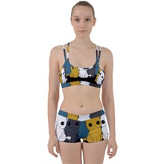 Cute Cats Women s Sports Set