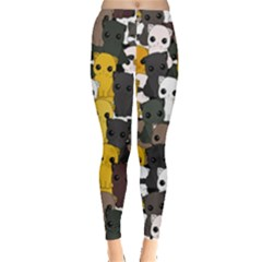 Cute Cats Pattern Leggings