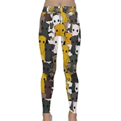 Cute Cats Pattern Classic Yoga Leggings