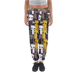Cute Cats Pattern Women s Jogger Sweatpants