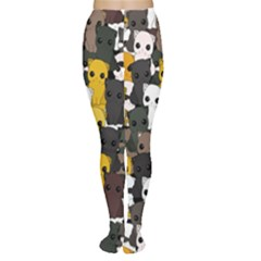 Cute Cats Pattern Women s Tights