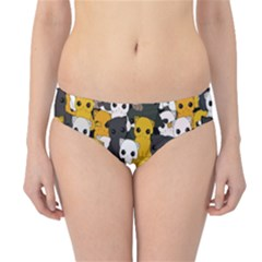 Cute Cats Pattern Hipster Bikini Bottoms