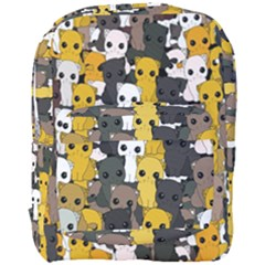 Cute Cats Pattern Full Print Backpack