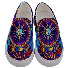 Sun And Moon   Men s Canvas Slip Ons