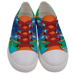 Openness   Women s Low Top Canvas Sneakers