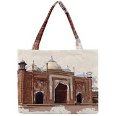 Agra Taj Mahal India Palace Mini Tote Bag