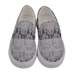 Lace Curtain Women s Canvas Slip Ons