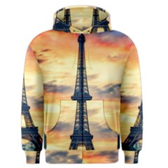 Eiffel Tower Paris France Landmark Men s Zipper Hoodie
