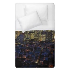 San Francisco California City Urban Duvet Cover (single Size)