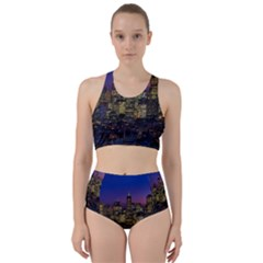 San Francisco California City Urban Racer Back Bikini Set