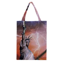 Statue Of Liberty New York Classic Tote Bag