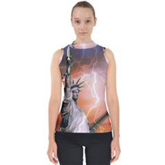 Statue Of Liberty New York Shell Top