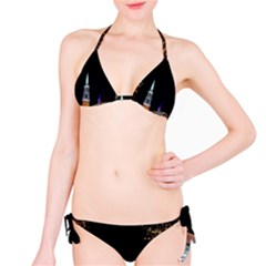 Church Decoration Night Bikini Set